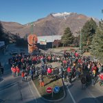 Image for the Tweet beginning: 300 people in #Les2Alpes in