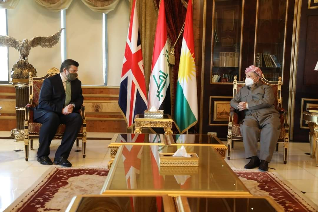 Pleased to receive @JSHeappey, UK's Minister for the Armed Forces today at the Barzani HQ. We discussed the latest developments and spoke of the significance of the defense cooperation between the Kurdistan Region and the United Kingdom. https://t.co/39DQJv2G6N