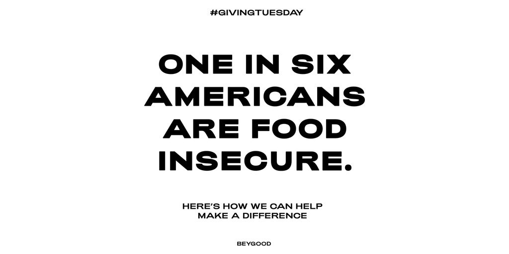 It's #GivingTuesday.  Join us in assisting Americans in need. Visit  to see how you can help.