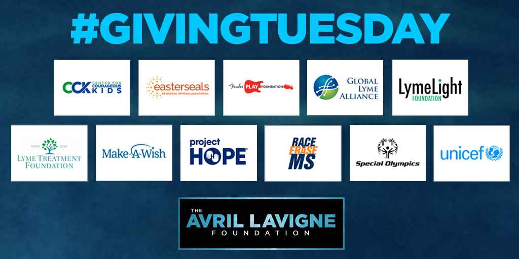 On #GivingTuesday, we're so grateful for YOU! We hope you will consider a donation to one of our partner charities. @WeAreCCK @eastersealshq @fender_play @LymeAlliance @LymeLightFNDN @lymetreatmentfn @MakeAWish @projecthopeorg @RaceToEraseMS @SpecialOlympics @UNICEF