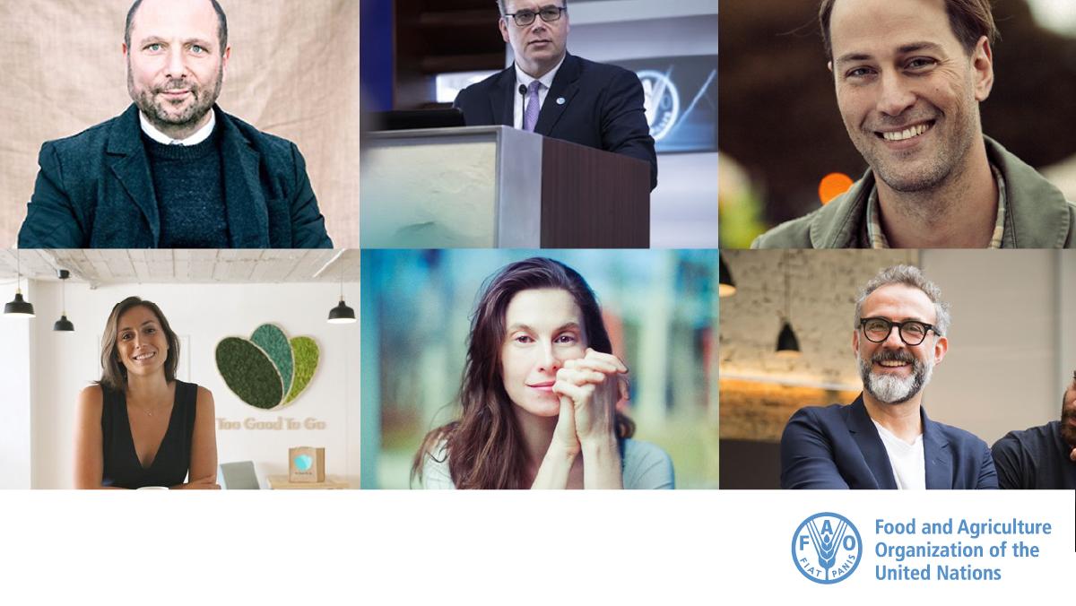 Join us to talk #FoodLoss & #FoodWaste today at 15:00 CET with  @DanSaladinoUK, @MaximoTorero, @TristramStuart, @LucieBasch, @ElettraW & @massimobottura on 👇  🔴Twitter @FAO 🔴Facebook  🔴LinkedIn  🔴Youtube