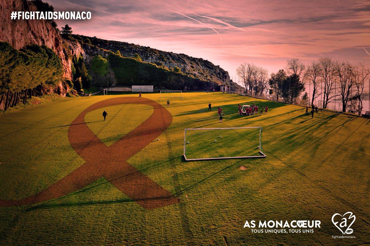 En cette Journée Mondiale contre le #SIDA, l'AS Monaco et l'@ASMonacoeur apportent leur soutien à Fight Aids Monaco.   Pour aider l'association:  👉