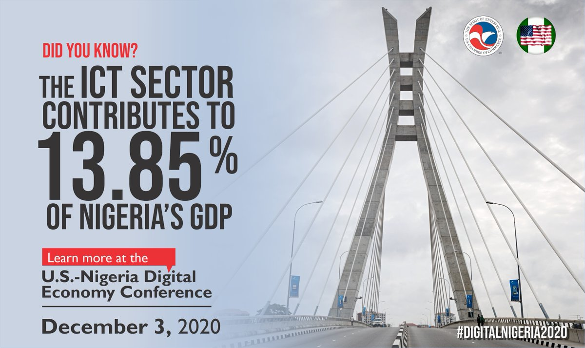 test Twitter Media - Join the @USChamberAfrica and the @ABCouncil_ng in TWO DAYS to learn more about how our companies are contributing to Nigeria's growing ICT sector. REGISTER NOW for the U.S.-Nigeria Digital Economy Conference at https://t.co/baUqa8zC1U  #DigitalNigeria2020 https://t.co/HQpiehvSw2