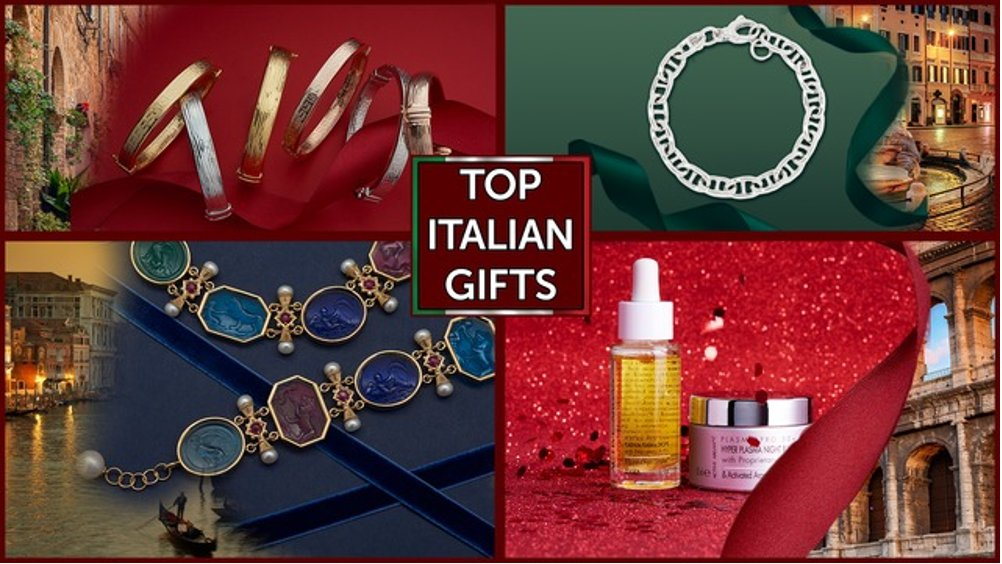 The Italian Gift Gala has arrived! Check out amazing jewelry and skincare from Italy from our event! 💛 🙌