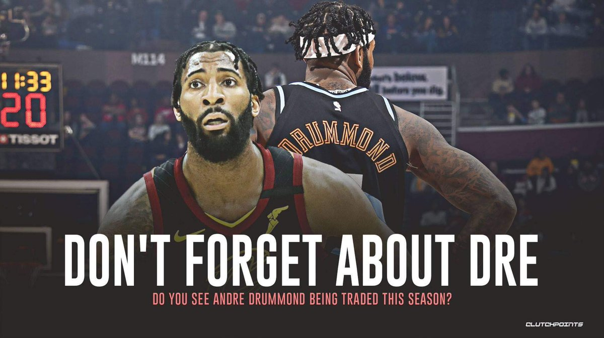 With Tristan Thompson gone and Kevin Love expected to have scheduled rest days, all signs point towards Andre Drummond feasting in Cleveland. 😳  FOLLOW @CavsNationCP for the latest on the All-Star center and everything Wine and Gold. 🚨 https://t.co/gI8XIL9CuS