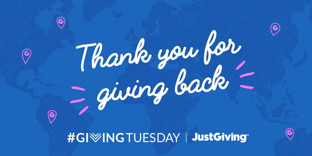 @tlubkemfy Thank you for giving back this #givingtuesday 💜