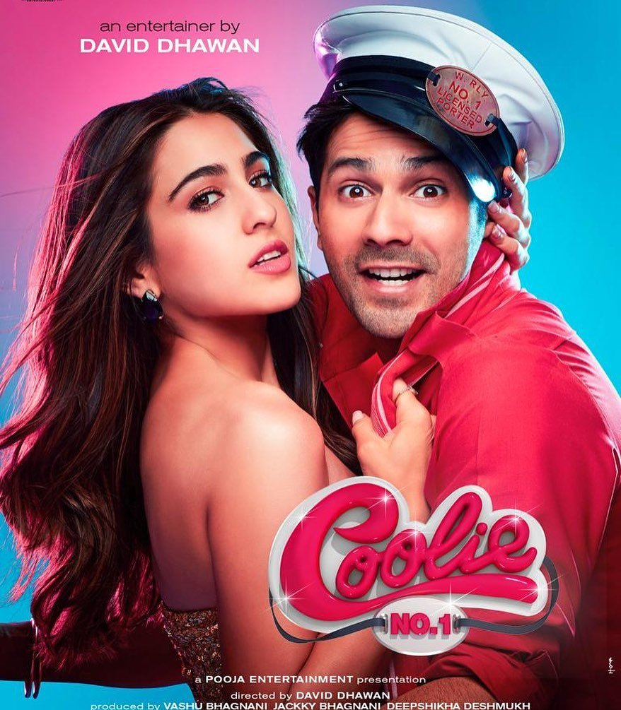 If Coolie no. 1 comes to theatres it will give me a reason not to go to the theatre ... Honestly a great way to keep social distancing! 😂#CoolieNo1 #CoolieNo1OnPrime