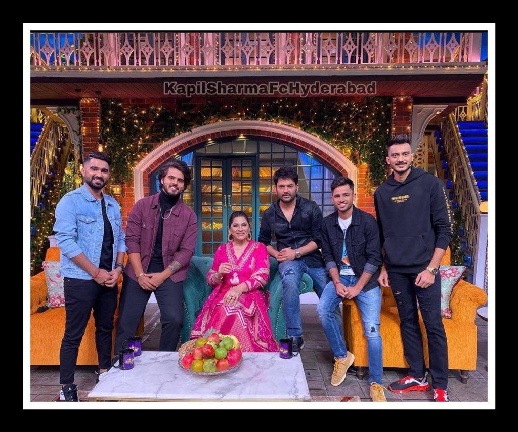 Today's Shooted For Episode Of #TheKapilSharmaShow #RaviBishnoi  , #NitishRana, @akshar2026 and @rahultewatia02 ! @SonyTV @KapilSharmaK9 Sir @almostbharat
