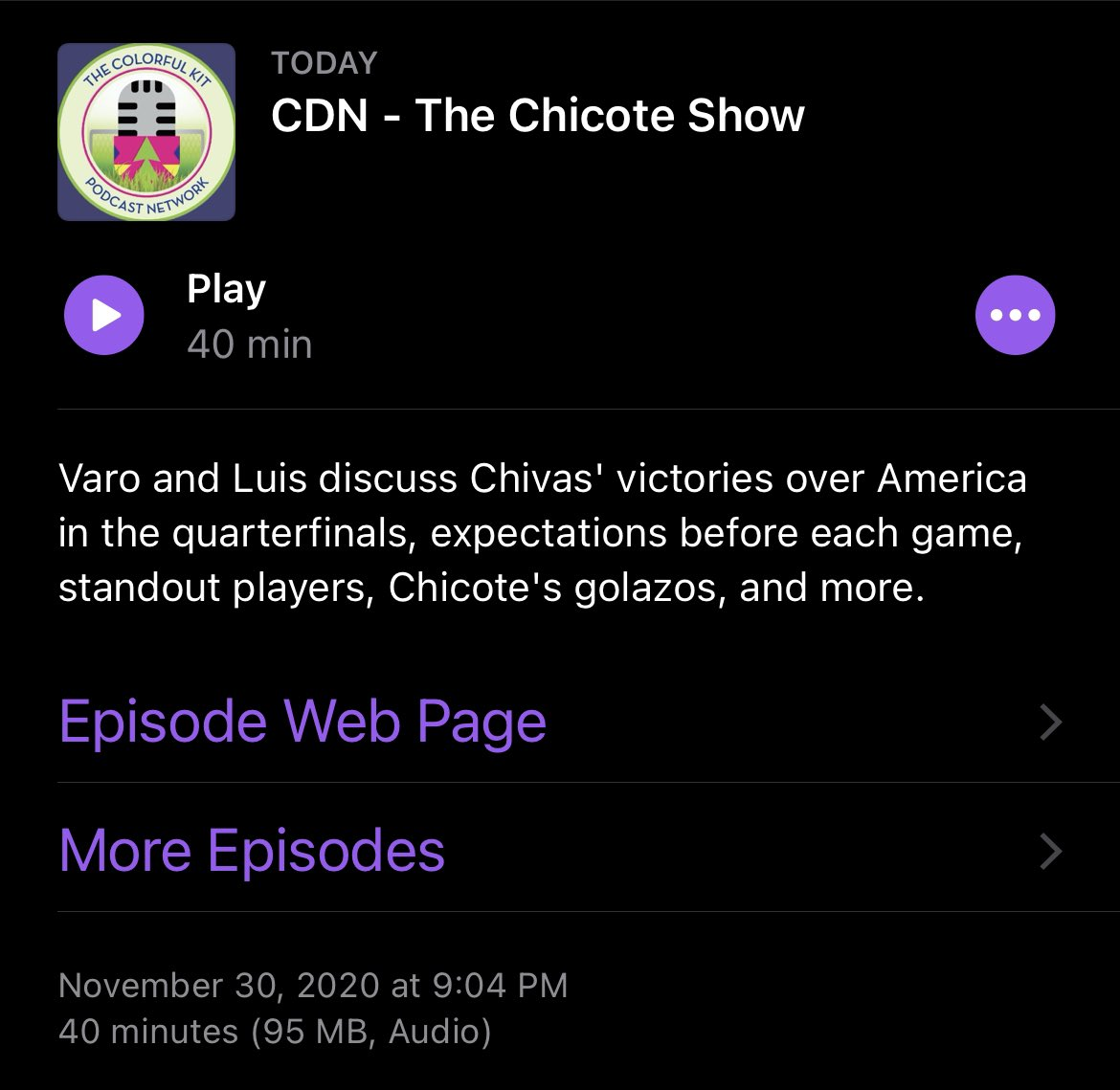 New podcast episode!  The first of two episodes we're releasing this week is up now. This episode focused on the Chivas vs America quarter finals and our next episode will be a Chivas vs Leon semifinal preview. #LigaMXEng #ChivasEng https://t.co/7QM0iC5y9d https://t.co/pGXOVlc3Xg