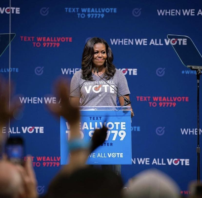 THREAD (1/5): When we all vote, we can make history.  Here's how When We All Vote helped make sure more Americans voted than ever before. 👇