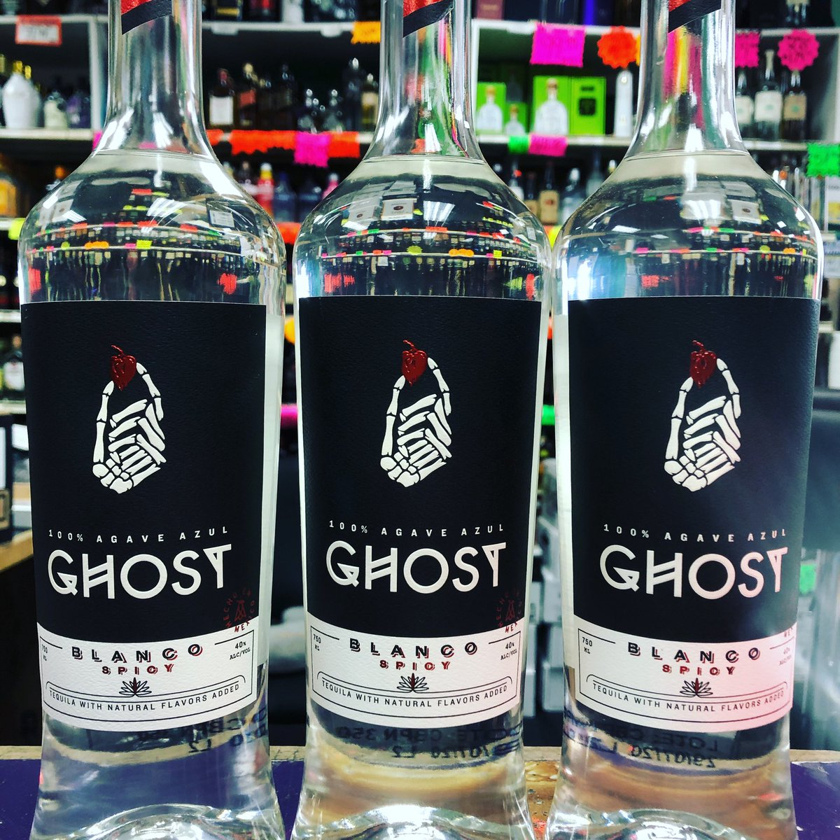 NEW AT ON THE ROX!!! GHOST TEQUILA!!! #ontheroxliquors #ontheroxliquor #ontherocksliquors #wny #buffalony #amherstny #tonawandany #amherstbee #kentonbee #buffalonews #buffalospree #ghosttequila #ghostpeppertequila #ghostpepper https://t.co/PadNhOCDT7