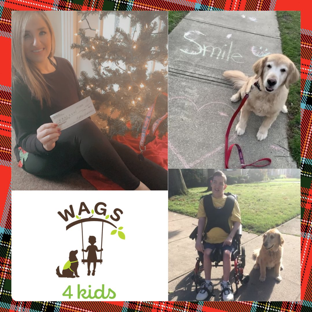 We truly can't thank @kates_takes enough! It's because of people like her that we can continue helping children with special needs! #GivingTuesday #servicedogs #disabilities