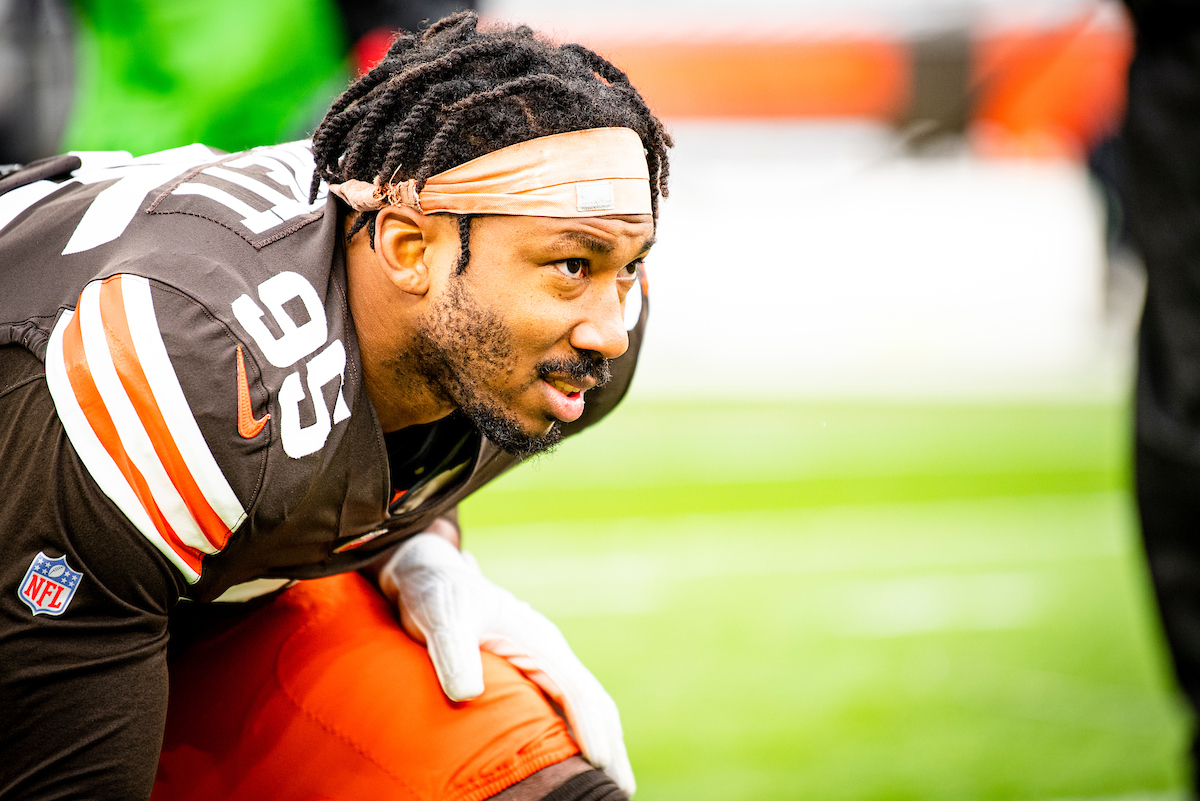 We've activated Myles Garrett from the reserve/COVID-19 list and placed Ronnie Harrison Jr. (shoulder) on IR  Details »