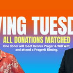 Image for the Tweet beginning: It's #GivingTuesday!  Donate to PragerU today