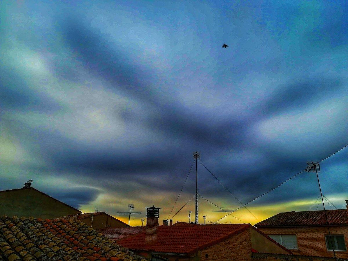 Se fue volando sin decir adiós ... .  #instagram #pic #pics #picoftheday  #ocaso #naturephotography #cielos  #landscape #cloudscape #clouds #sunset  #sun #sol #fotografia  #cielo #sky #tramonto #flying #nubes #naturaleza #foto #photo #instalove #ciel  #puestadesol #bestoftheday