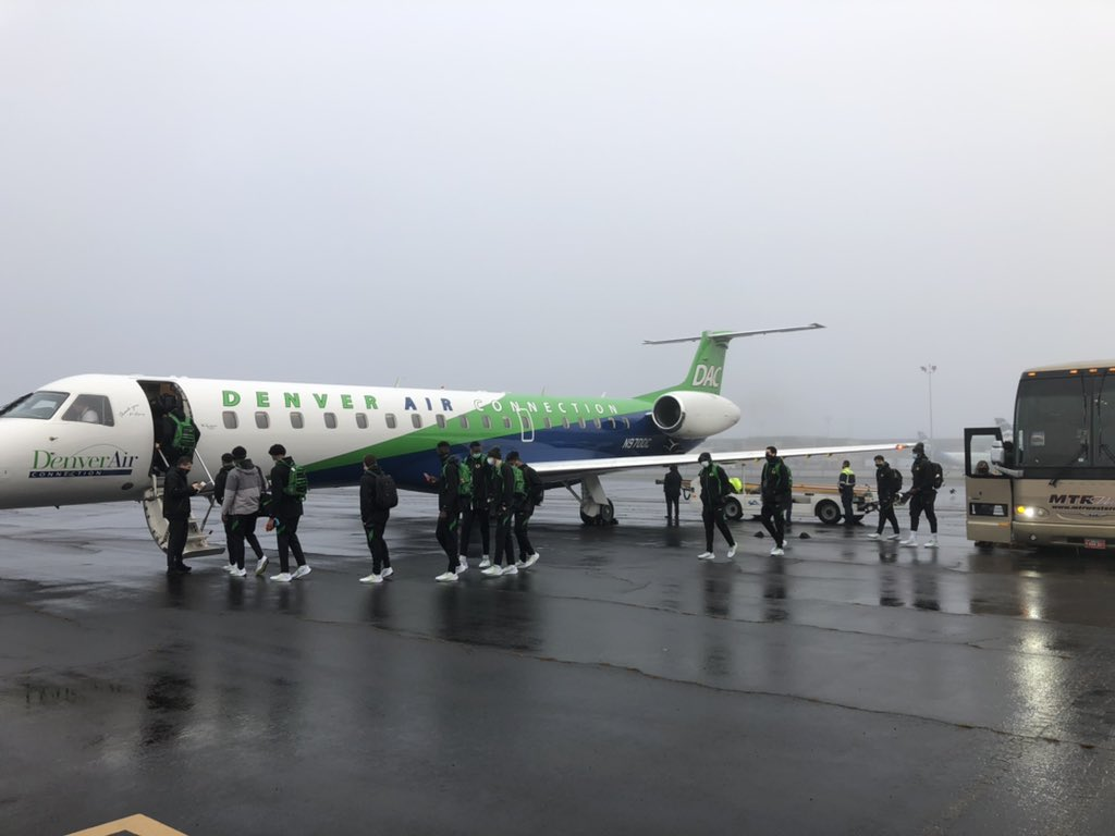 Wheels up to Omaha.  Big test this week against two tough opponents. #GoDucks