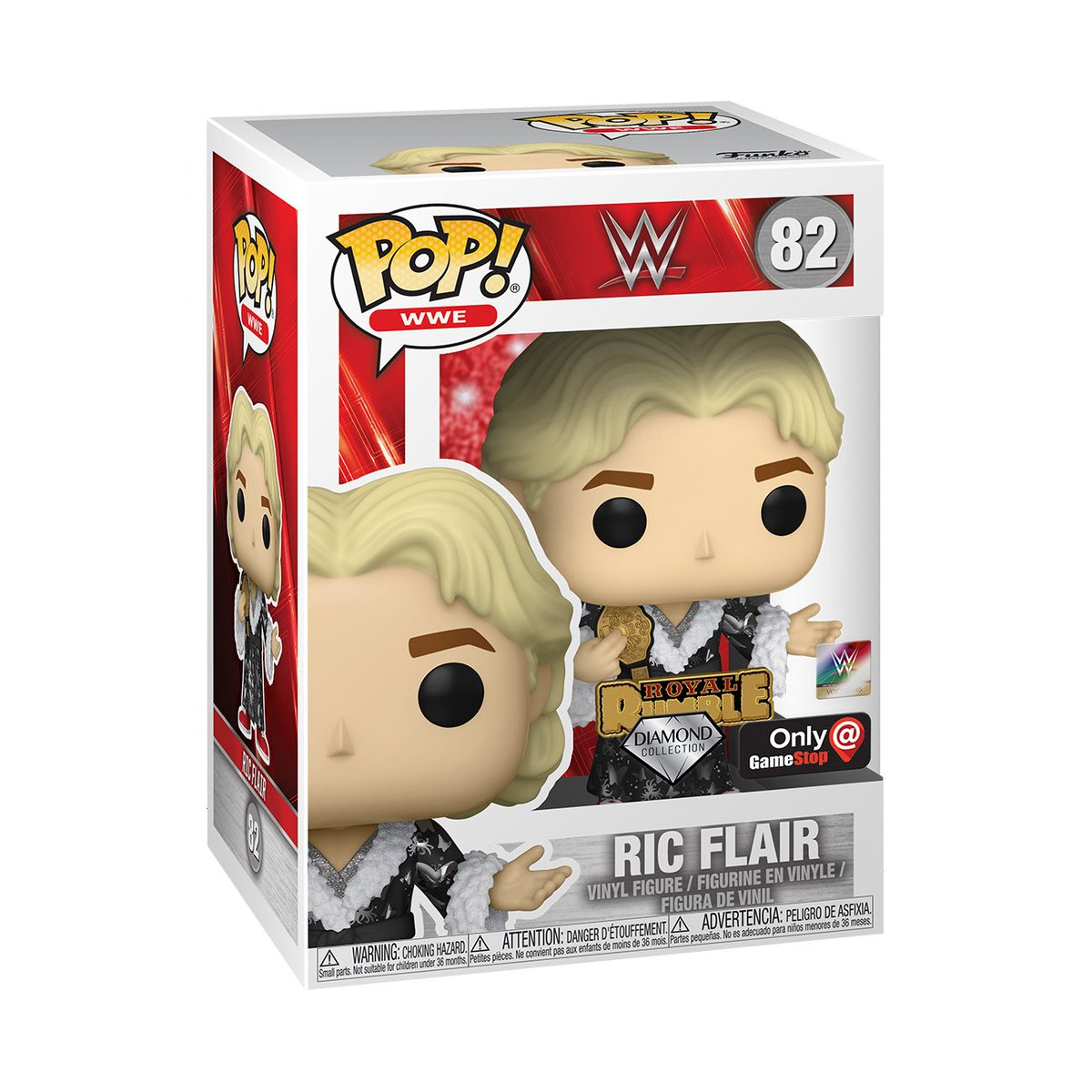 Preorder Now: GameStop exclusive Diamond 92 Ric Flair with pin! #Funko #Ad .