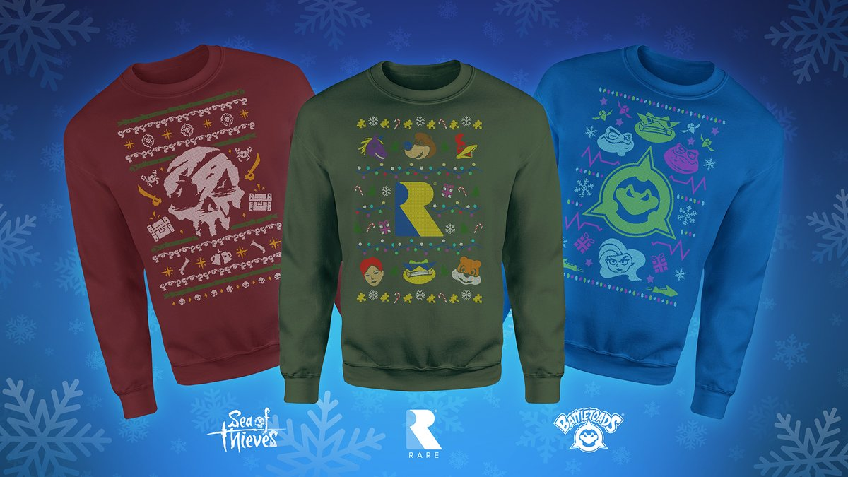 Behold our seasonally specific sweaters! Well, you could wear them at any time of year really, but this kind of knitted look only tends to get compliments between now and Dec 25th. Trust us, we may be the most fashionable game studio in the Midlands.  🎄