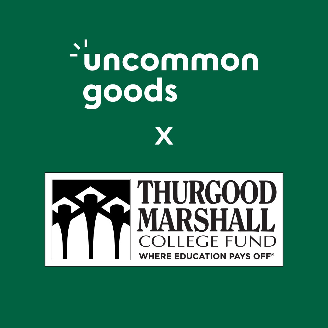 We love our partnership with @UncommonGoods and their commitment to the Black College Community!   We're a Better Goods partner and any purchase on @UncommonGoods today will receive a double donation if selected at checkout!  Check out their dope products !