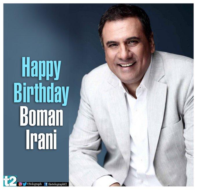 The man who aces both haa-ha and high drama. Happy birthday Boman Irani!