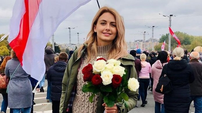 Miss Belarus 2008 and former press secretary of FC Dynamo Brest Volha Khizhynkova have been in prison since November 8th (24 days) on charges of taking part in peaceful protests. The conditions of the imprisonment are inhumane. The state terror in #Belarus affects all of us.