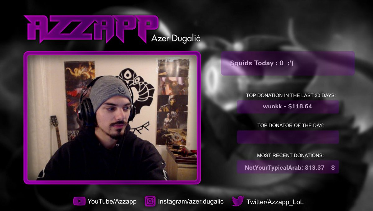 Azzapp - WE ARE IN THE ENDGAME NOW, 1 MORE MONTH!    #VelKoz #LeagueOfLegends #Streamer #Livestream #Twitch #twitchstreamer #TwitchStreamers #TwitchTv #TwitchPartner