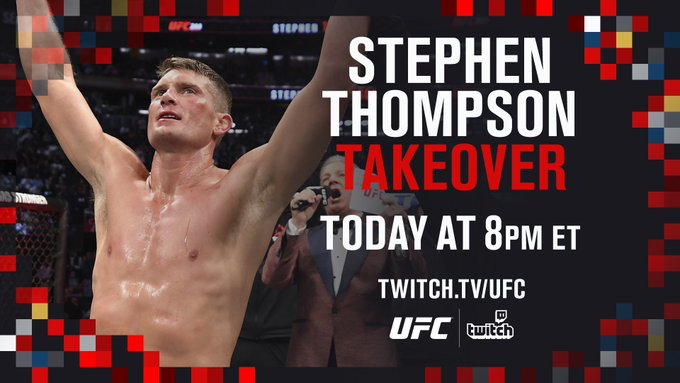Who's ready for some takeover action? 📺  Tune in with @WonderboyMMA on our Twitch channel TONIGHT!  [ Live At 8PM ET |  ]
