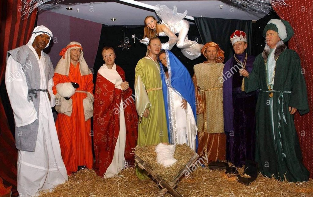 Nativity Scene With Gay Figures Vandalized