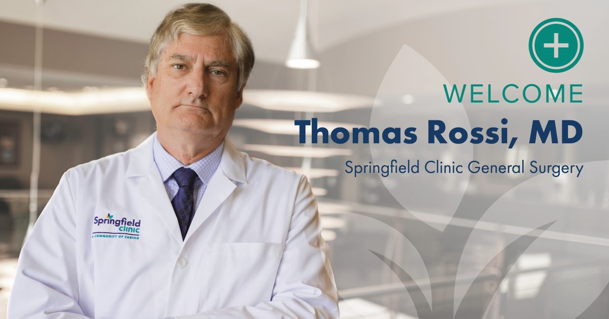 "Meet Thomas Rossi, MD, with Springfield Clinic Peoria's General Surgery team. Dr. Rossi's favorite part about his job is working alongside residents and medical students. ""I enjoy teaching; that's what really keeps me motivated, keeps me in the loop and makes me work harder."""