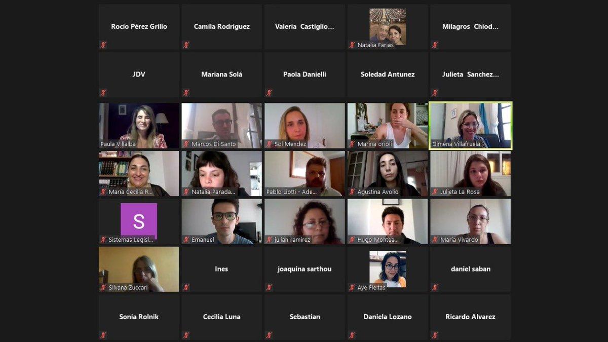 """Hace instantes, en el encuentro """"Mujer y Negocio"""", en el marco de la conmemoración por el Día Internacional de la Mujer Emprendedora. Gracias, @ceciliaribecco, @Pabloliotti, @P_Villalba y @msolmendez por sus exposiciones y a todos los que participaron! https://t.co/X9twxQnFAL"""