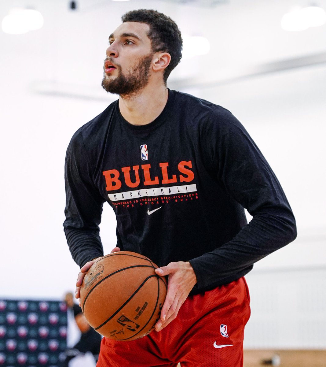 Replying to @chicagobulls: Feels great to have our guys back 🙏  @BMOHarrisBank l #BullsNation