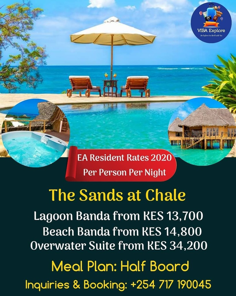Welcome to #magicalkenya🇰🇪 🏖️🕶️🥂  Welcome the The Sand @ Chale 😍  #breakaway #traveling #holidays2019 #vacation #happyholidays2019 #2019 #vacations #rest #vacation2019 #travelgram #happy #holidays #travelling #holiday #family #smile #restday #happyho… https://t.co/0rrixMijxX https://t.co/ErUCCOYyQ8