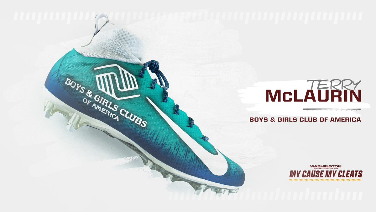 Bid NOW on the cleats‼️ All the proceeds will benefit the charity featured on the player's cleats!   ➡️: