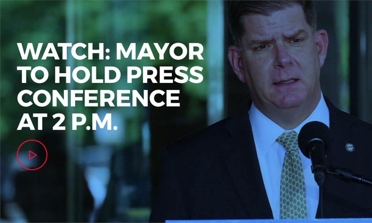 Mayor @marty_walsh will provide a #COVID19 update for the City of Boston at 2 p.m. on https://t.co/O1wfAGONh5 https://t.co/7zZr8BPCNc