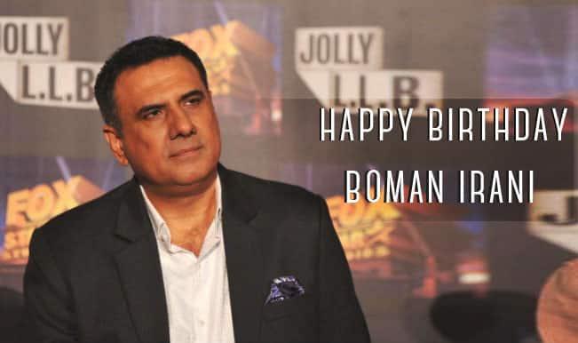 Happy 60th Birthday to Indian Actor, Mr BOMAN IRANI Ji.