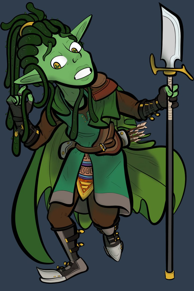 Heroes! 🌱 🐢 🎲 🕷 🔥   I'm loving working with the folks at @GameCalledQuest  They had me do their character lineup for their upcoming TTRPG Actual-play podcast, please check em out! @questrpg  #TTRPG #questrpg #podcast #dnd #magician #ranger #doctor #fighter #oc #Commission https://t.co/JxDjeinHBH