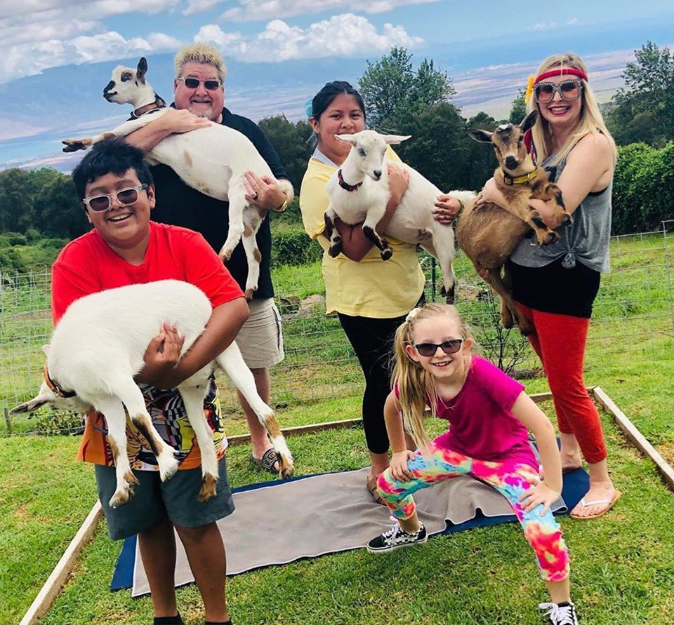 Goatin around with Maui Goat Yoga!    Check out https://t.co/HSEiHOiNqD to find out more!    #mauigoatyoga #MauiUnbound #Maui #Hawaii #Travelgram #Travel #Vacation #Travelling #Holiday #Adventure #Familyvacation #Luxurytravel #Explore #Travelguide #Traveller #Hawaiilife https://t.co/1QGNZAfPkq