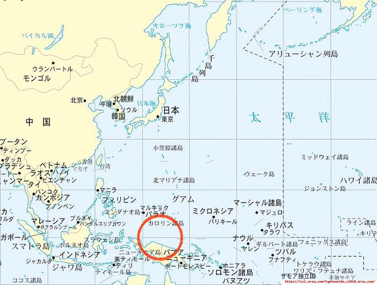 日時: 2020年12月2日 04時10分 (JST) Invest 96W が発生しました 位置:4.0N 141.0E ソース:TIDB   #台風 #typhoon #cyclone #台風ログ #5ch #INVEST #96W
