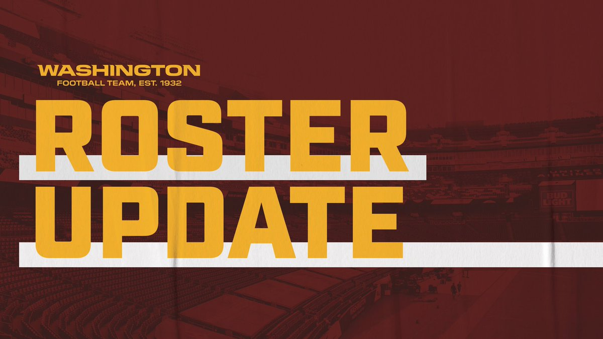 We have signed T Timon Parris and T Rick Leonard to the practice squad.