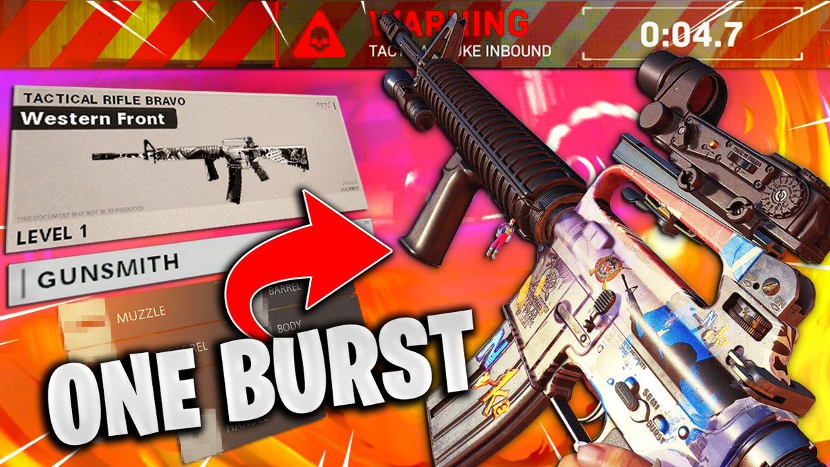Buzro - 🚨 NEW VIDEO 🚨   the *ONE BURST* M16 LOADOUT in Black Ops Cold War (BEST M16 Class setup)  I hope you guys enjoy! 🐑♥️  📺: