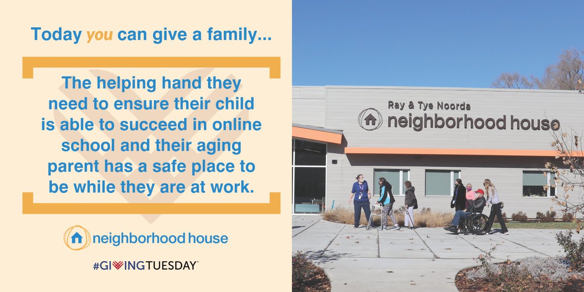 This #GivingTuesday give the gift of a brighter future to low-income children and adults in the community through quality education and care.