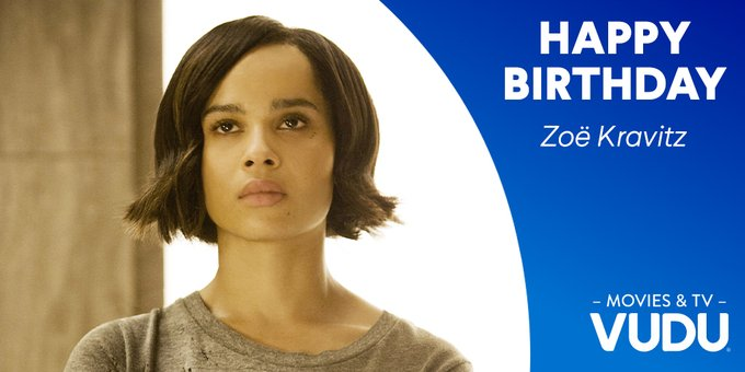 Happy Birthday to actor and producer, Zoe Kravitz! Which one of her 38 roles has been your favorite?