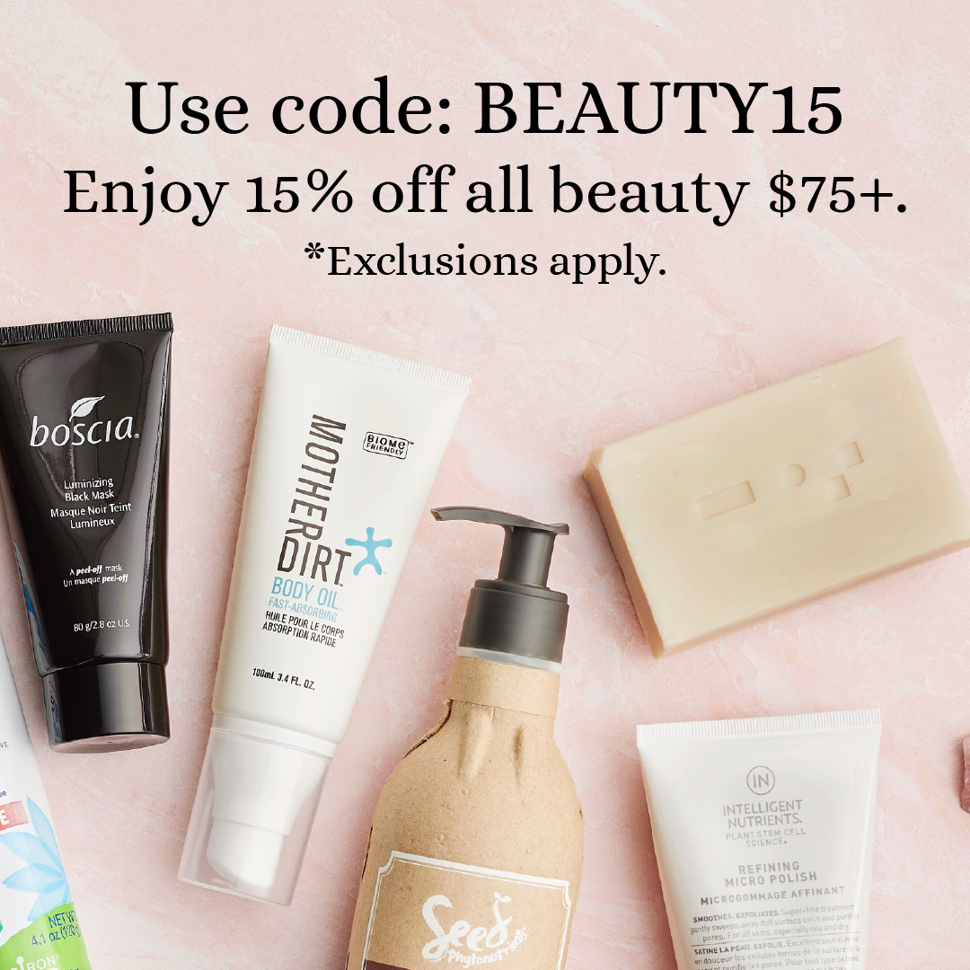This is not a dream! This is real! Use code: BEAUTY15 to enjoy 15% off all beauty when you spend $75+. Ends tonight. Happy Shopping! 😍