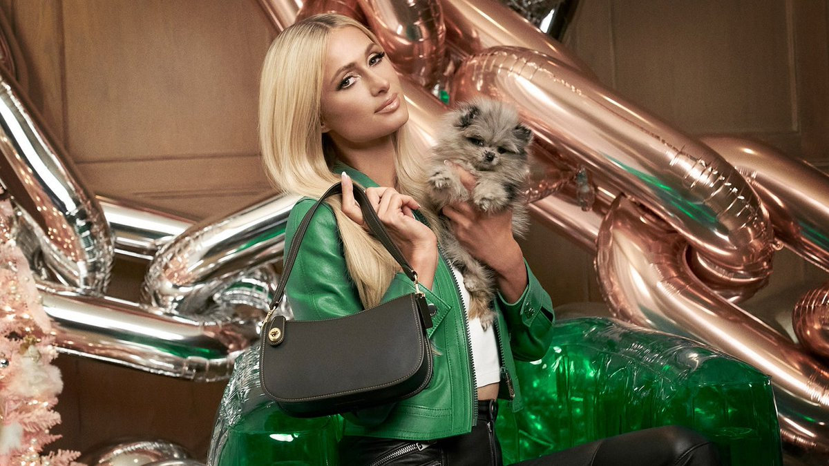 """It's really about just being as extra as possible."" @ParisHilton speaks with Vogue about her new @Coach campaign, the return of Y2K style, and the iconic handbags she wished she still had—especially those stolen by the Bling Ring. https://t.co/MHddhvMVOY https://t.co/rBYU9axMwi"