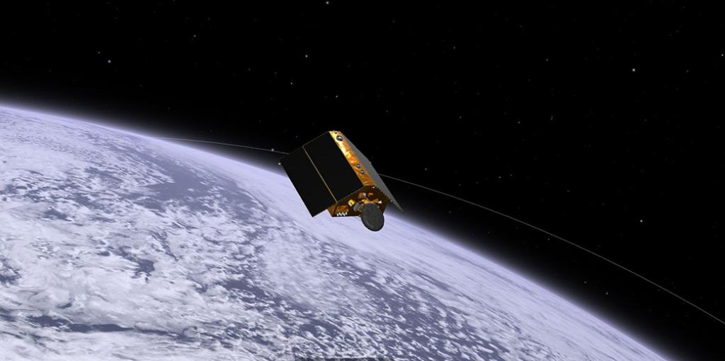 Last month, the Sentinel-6 Michael Freilich satellite launched from Vandenberg Air Force Base in central CA. Now, NASA's Eyes on the Earth visualization app lets you track the spacecraft as it begins its mission to measure sea level height.  #SeeingTheSeas
