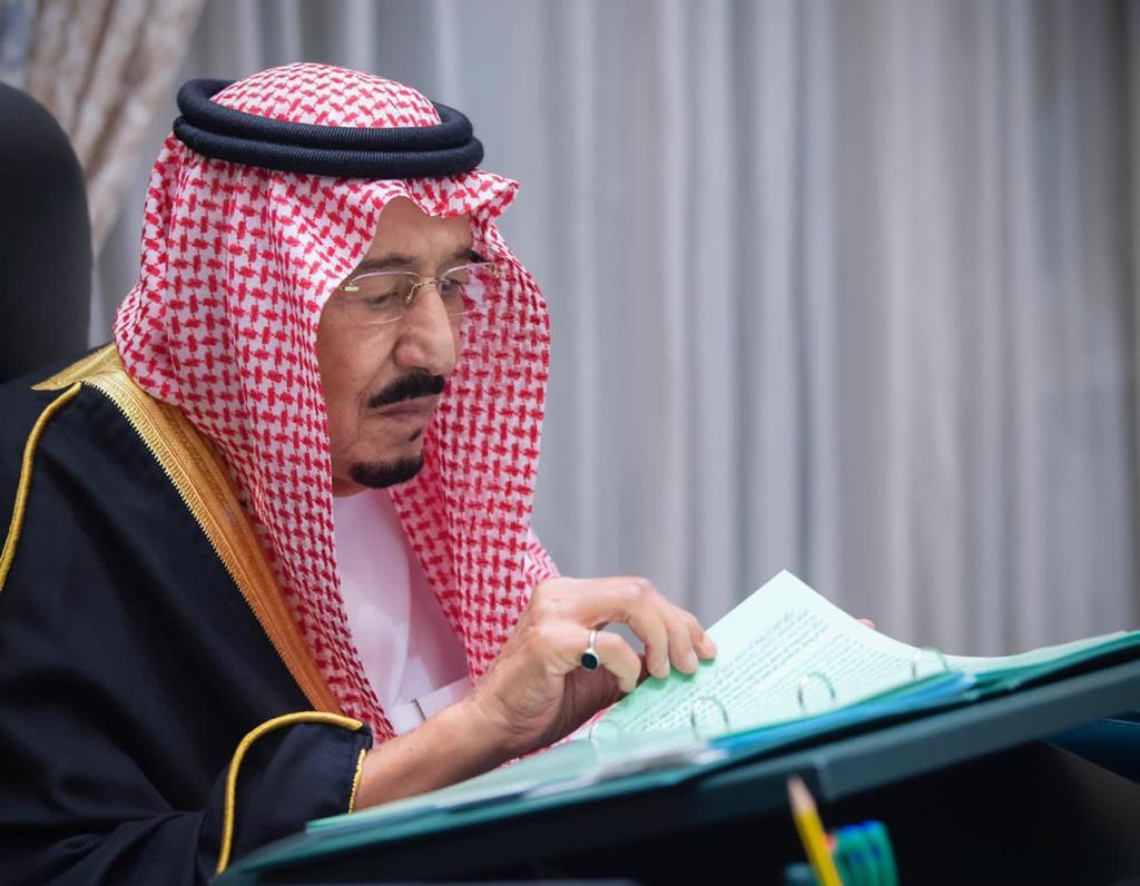 #عاجل #مجلس_الوزراء يجدد تأكيد حرص المملكة على تحقيق الأمن والنماء للشعب اليمني الشقيق، والمضي قدما لتنفيذ #اتفاق_الرياض لتعزيز السلام والاستقرار، والتوصل إلى حل سياسي شامل وفق المرجعيات الثلاث. #واس