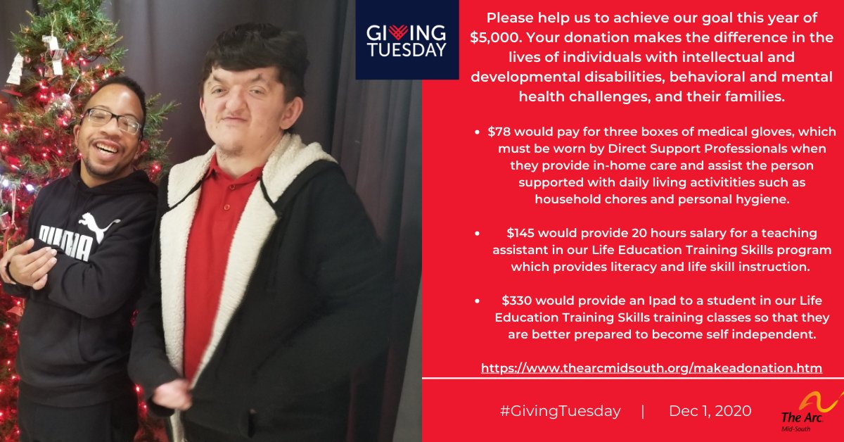We have so much work to do—and we need your help to do it. Please consider supporting our advocacy work for disability rights this #GivingTuesday. Please go to  and donate today!