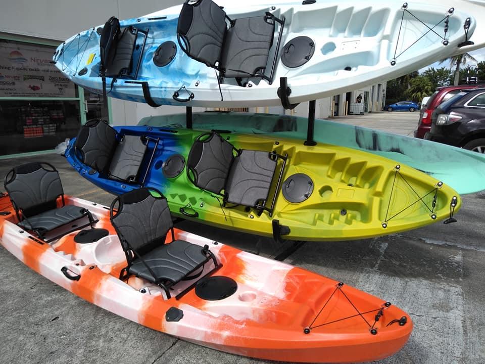 Si eres amantes de las #actividadesacuaticas como salir en #kayaks o de #pesca, mis amigos de Nirvana Watersports  tienen unos #kayas nuevos de sus propia marca que les acaban de llegar #miami #holasoyrey #fishing https://t.co/UlUwddFicA