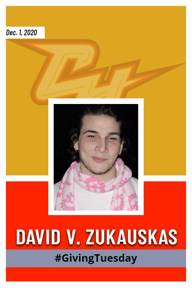 Today is #GivingTuesday! In memory of former student David V. Zukauskas, please help us help students by raising money for the Dave Z Fund. Sometimes students need extra support. To donate, click the link in our bio! Any amount is appreciated. #GriffinStrong #GivingTuesday https://t.co/LqhyBlvFux