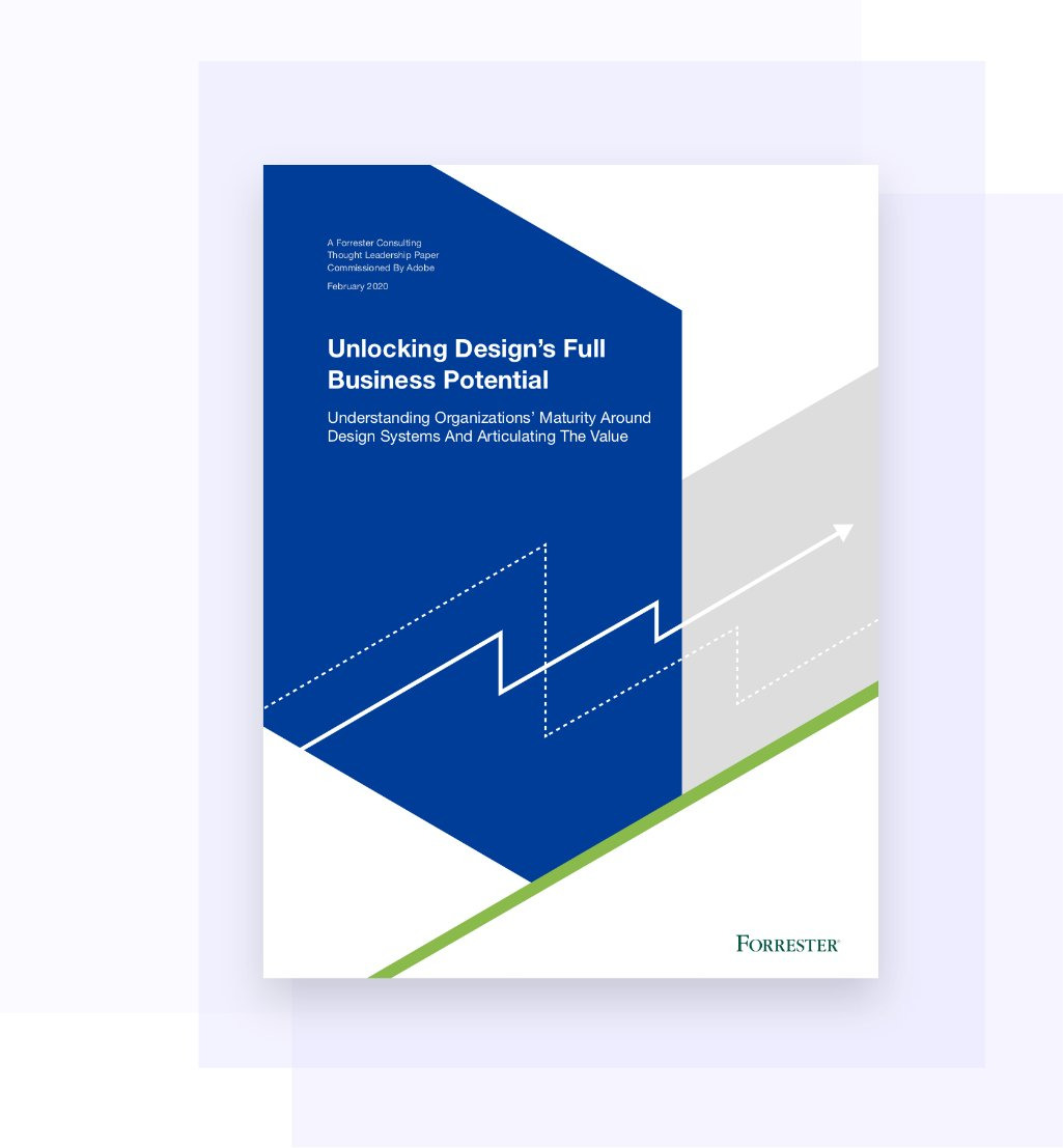 In this special report by @forrester we examine how your organization can unlock the full potential of design systems: adobe.ly/2KWFpOj